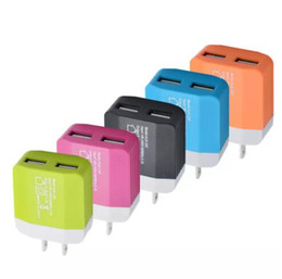 iphone bus Rabatt Hohe qualität 5 V 1.2A Dual USB US EU Stecker Ladegerät Home Reise Netzteil Für IPHONE SAMSUNG Android Handy