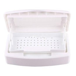 Wholesale Tools Sterilizer Box - Wholesale-Pro Sterilizer Tray Box Sterilizing Clean Nail Art Salon Tool Nail Art Salon Tool Sterilizer Tray Box Sterilizing Clean Makeup