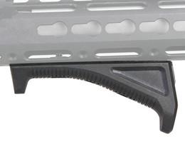 Wholesale Airsoft Handguard Rail - KeyMod Grip Nylon made Ergonomics M O E style M-LOK grip foregirp airsoft handguard rail control