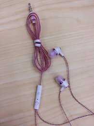 Wholesale Earphones Colourful - Perfume 2016 New Fashion Universal IN-Ear Earphone with MIC Handsfree Mobile Headset for Android&IOS with Colourful Packing Crystal wire