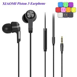 m5 metales Rebajas XIAOMI M5 Piston 3 Auriculares Estéreo Auriculares de música Metal Piston3 Auriculares con micrófono para teléfono celular Compatible con cualquier dispositivo inteligente EAR198