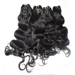 Wholesale Fashion Queen Hair - Fashion Queen Bulk Hair 3 bundles lotBody Wave Indian Human Hair Weaving With Fast Delivery
