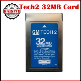 Wholesale Tech Code Reader Isuzu - 2017 Latest version 32MB Card original for GM TECH2 tech 2 card for (GM OPEL SAAB ISUZU SUZUKI & Holden) free shipping