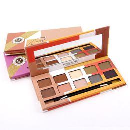 Wholesale Makeup Miss - Miss Rose Eyeshadow Palette makeup palette Earth Smoked Matte Shimmer color palette makeup 10 color VS