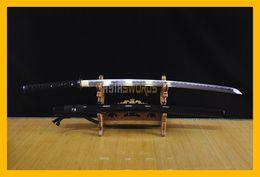 Wholesale Handmade Japanese Swords - COLLECTION SWORD for decorate 100% Handmade Full Tang Hand forged T10 1095 High Carbon Steel Japanese Samurai Katana Japan Ninja Sword #142