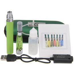Wholesale Ego T Kit Zipper Case - CE4+ eGo-T Zipper Case Kit - ecig ego starter kit CE4+ rebuildable atomizer 650 900 1100mah ego-t ecig battery fit ce4 ce6 kit