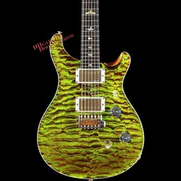 Wholesale Electric Guitar Quilted Maple - 10S Custom Shop Private Stock #6139 Custom 24 Quilted Maple Bull Frog Electric Guitar