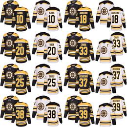 37 Patrice Bergeron Jersey 2017-18 New Season Boston Bruins 20 Riley Nash  33 Zdeno Chara 39 Matt Beleskey Custom Hockey Jerseys White Black c59936edc