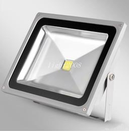 Wholesale Epistar Chip Led Cob - 3500K  6500K {10W  20W 30W 50W} Led Floodlight Outdoor Project Lamp COB Epistar chip AC85-265V plain Bright flood lights Aluminum tunnel la