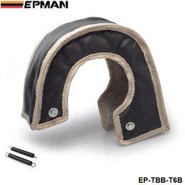 Argentina EPMAN Alta calidad Heat Shields T6 turbo cargador turbocompresor manta beanie hecho a mano calidad garantizada (Negro) en stock EP-TBB-T6B Suministro