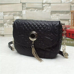 Wholesale Sheep Small - Hot sale women bags Fashion italy high quality famous brand sheep skin shoulder bag genuine leather embroidery cross-body bags