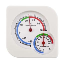 Wholesale Indoor Outdoor Kitchens - Indoor Outdoor MIni Wet Hygrometer Humidity Thermometer Temperature Meter new arrival