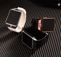 Wholesale Golden Fashion Watches For Men - New Fashion Smart Watch DZ09 Support TF Sim Card Watch Camera SIM TF Men Wristwatch for IOS Android Phone VS U8 GV18 GT08
