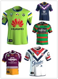 Wholesale Raiders Jerseys - 2018 NRL JERSEYS CANBERRA RAIDER S2017 best quality shirt !NRL National Rugby League Canberra new High-temperature heat transfe size S--XXXL