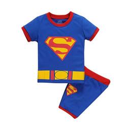 Wholesale Brief Superman - A boy short suit Superman T-shirt for boys aged 2-6 in 2016 selling cotton garment wholesale sales