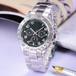 Wholesale Second Watches - Life waterproof automatic date steel with sports luxury fashion clock man watches 3 seconds watches automatic movement