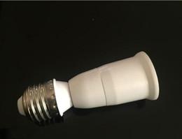 Wholesale Head Light Converters - E27 to E27 Lamp Holder Converter, Single-head Conversion Lamp Base, E27 Lengthen Horn Type Light Socket