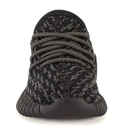 Wholesale Kids Winter Boys Shoes - New kids shoes 350 Boost kanye west shoes Pirate Black and Turtle Dove with Boost Cushioning System Infant child toddlers boys girls size