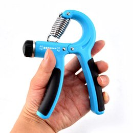 Wholesale Forearm Fitness Equipment - Wholesale-10-40 Kg A Type Hand Gripper Wrist Forearm Strength Training Hand Gripper Gym Power Fitness Equipment Hand Exerciser