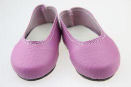 Pelle shose online-Moda 18 pollici bambola bambola Shose Infant Girls Pu pelle bambola bambino Shose bambino scarpe suola morbida misura per qualsiasi 18 pollici
