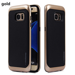 Wholesale Plastic Lines - Ultra thin motomo NEO leather lines tpu electroplating PC Cover Case For iPhone X 8 7 7plus 6 6S plus 5S 5 SE 5C Samsung Galaxy S7 S7 Edge