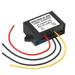 Wholesale Automatic Steps - DCMWX® Regulated voltage converter 12V24V Stabilized to 24V automatic step-up or step-down car power inverter Input DC8V-40V Output 24V 1.5A