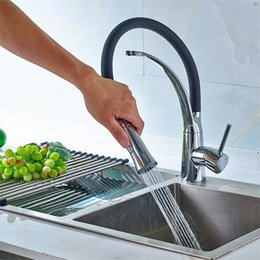 Wholesale Full Sink - Fast free shiping hot Selling Boutique Full copper valve Kitchen hot and cold faucet KITCHEN sink mixing valve