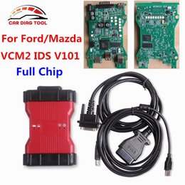 Wholesale Ids Ford Scanner Tool - 2017 For Ford VCM II IDS V101 Full Chip VCMII OEM OBDII Scan Tool For Mazda   Ford VCM 2 Car Code Scanner VCM2 CNP Free Ship