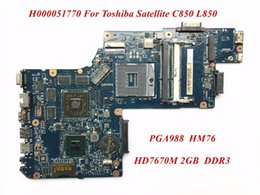 Wholesale Laptops Motherboard For Sale - Hot Sale And High Quality Product For Toshiba Satellite C850 L850 Laptop Motherboard H000051770 HD7670M 2GB DDR3 100% Tested