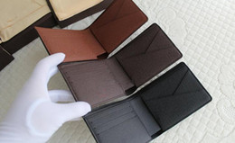 Wholesale 2016 new high quality original leahter wallet with original box Wallet have classic styles Each style have classic colors