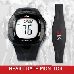 Wholesale Bike Heart Rate - Wholesale-ISPORT Brand Wireless Heart Rate Monitor Watches Chest Strap Calorie Counter Sports Watch For Bike Cycling Watches