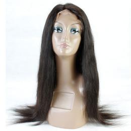 2019 бразильские человеческие волосы афро Прямые Glueless полные парики шнурка человеческих волос с волосами младенца для чернокожих женщин афро бразильский человеческих волос Реми дешево бразильские человеческие волосы афро