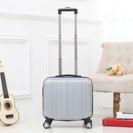 "Girls wheeled suitcase en Ligne-Gros-17 ""Femmes ABS Trolley Sac Voyage sur roues Valise Bagages Voyage Valise pour les filles Pensions Rolling Luggage Spinner"