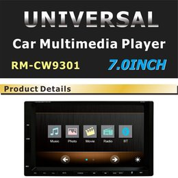 "Wholesale Tv Tuner Hd Sd - Car DVD 7"" HD 2 DIN Touch Panel Bluetooth FM Steering Wheel Control universal for ford Car Radio Player In Dash Video headunit USB SD"