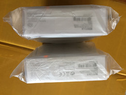 Wholesale Earphone Packing Box - 50pcs lot AAAA+ Quality 3.5mm in ear earphone headphone With Remote and Mic headset with retail packing box headset