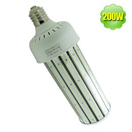 Wholesale E27 Led Watt - 200w warehouse corn led bulb E40 E39 E26 E27 pc covered 2835 SMD high bay bulbs replace 1000 watt metal halide