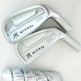 Wholesale Forged Iron Sets - New Mens Golf Heads MIURA CB-501 FORGED Golf Irons head set 3-9P irons set Golf clubs heads No Clubs shaft Free shipping