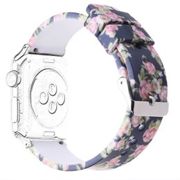 Wholesale Silicone Wristband Strap - Silicone Replacement Smart Watch Band Wristband Bracelet Strap for 38mm Apple Watch iwatch Series 3   Series 2   Series 1