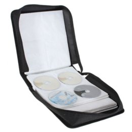 Wholesale Dvd Storage Carry - New Portable 320 Capacity CD DVD Media Storage Holder Carry Bag Case Durable Black High Quality