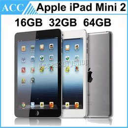 Wholesale Refurbished Ipad 16gb - Refurbished Original Apple iPad Mini 2 2nd Generation WIFI 7.9 inch IOS A7 16GB 32GB 64GB Retina Display Warranty Included Black and White
