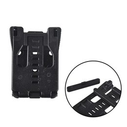 Wholesale Climbing Clamp - Multifunction Waist Clip Back Clamp K Sheath Scabbard Tools Black Outdoor Sport Camping Climbing Travel EDC Gear 2504031