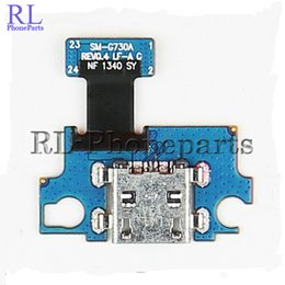 Wholesale Galaxy S3 Ribbon - 10pcs lot USB charging dock charger port connector flex cable With Microfone Flex Cable Ribbon For SAMSUNG Galaxy S3 mini G730A
