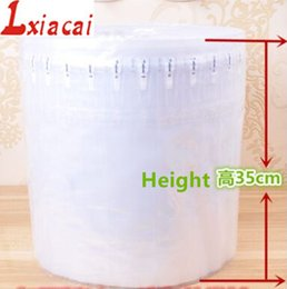 Wholesale Foam Columns - Wholesale-35cm*30m Column bubble bag coil Cushioning Material Protective inflatable packaging material shockproof buffer bag Free shipping