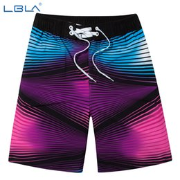 Wholesale Cool Summer Shorts - Wholesale-Fashion men beach shorts summer cool board shorts,2016 striped quick drying surf shorts loose shorts L-4XL