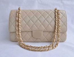 Wholesale Design Totes Leather - 2016 stylish lattice design PU Leather Silver   gold hardware skin flap Handbag Shoulder Bag oblique cross package
