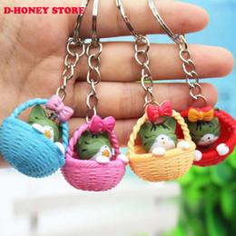 Wholesale Plastic Pussy - Super cute Kitty Cat Doll Key Chain Pussy Key Chain Ring Kitty Kitten Model Chaveiro Keychain