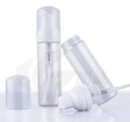 Wholesale Plastic Soap Pumps Bottle - 60ml Foam Foaming Suds Pump Bottles Mousses Liquid Soap Transparent bubble packing bottle Refillable Portable travel