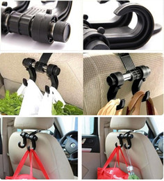 Wholesale Cheap Bag Hooks - Plastic Car Garbage Bag Hanger Auto Organizer Coat Hook Aaccessories Holder Clothes Hanging Hold Cheap 400pcs Lot