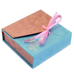 Wholesale Necklace Bracelet Earring Boxes - Factory Price Top Grade Bracelet Fashion Paper Handmade Gift Boxes & Jewelry Boxes for Bracelet Rings Necklace Dustproof Storage