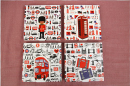 Wholesale London Series - Wholesale- 1pcs lot NEW Fashion Vintage I LOVE London Series diary notebook paper Notepad hand cover book 4 design for choose